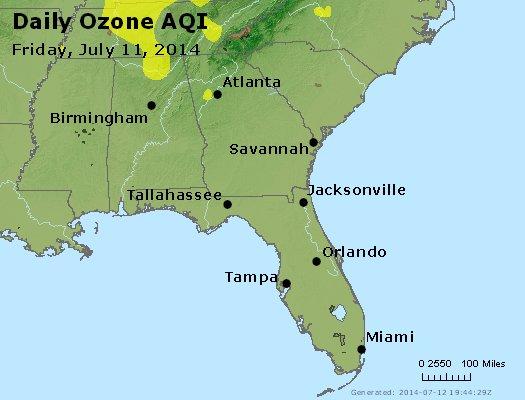 Peak Ozone (8-hour) - http://files.airnowtech.org/airnow/2014/20140711/peak_o3_al_ga_fl.jpg