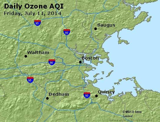 Peak Ozone (8-hour) - http://files.airnowtech.org/airnow/2014/20140711/peak_o3_boston_ma.jpg