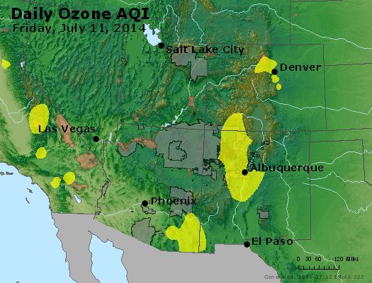Peak Ozone (8-hour) - http://files.airnowtech.org/airnow/2014/20140711/peak_o3_co_ut_az_nm.jpg
