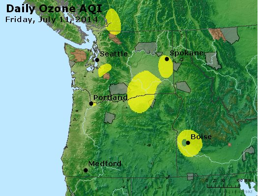 Peak Ozone (8-hour) - http://files.airnowtech.org/airnow/2014/20140711/peak_o3_wa_or.jpg