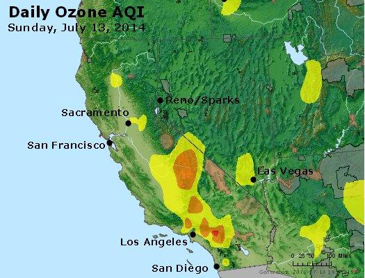 Peak Ozone (8-hour) - http://files.airnowtech.org/airnow/2014/20140713/peak_o3_ca_nv.jpg