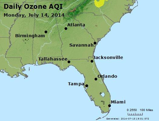 Peak Ozone (8-hour) - http://files.airnowtech.org/airnow/2014/20140714/peak_o3_al_ga_fl.jpg