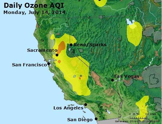 Peak Ozone (8-hour) - http://files.airnowtech.org/airnow/2014/20140714/peak_o3_ca_nv.jpg