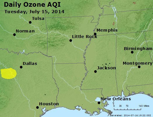 Peak Ozone (8-hour) - http://files.airnowtech.org/airnow/2014/20140715/peak_o3_ar_la_ms.jpg