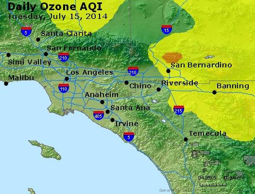 Peak Ozone (8-hour) - http://files.airnowtech.org/airnow/2014/20140715/peak_o3_losangeles_ca.jpg