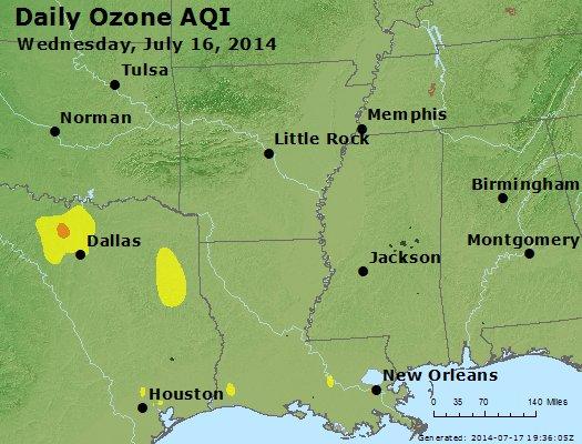 Peak Ozone (8-hour) - http://files.airnowtech.org/airnow/2014/20140716/peak_o3_ar_la_ms.jpg