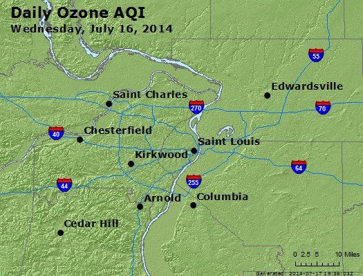 Peak Ozone (8-hour) - http://files.airnowtech.org/airnow/2014/20140716/peak_o3_stlouis_mo.jpg