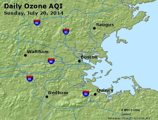 Peak Ozone (8-hour) - http://files.airnowtech.org/airnow/2014/20140720/peak_o3_boston_ma.jpg