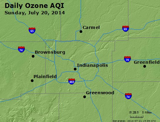 Peak Ozone (8-hour) - http://files.airnowtech.org/airnow/2014/20140720/peak_o3_indianapolis_in.jpg