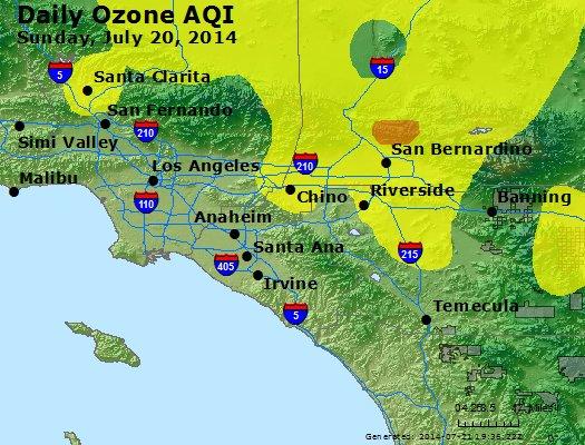 Peak Ozone (8-hour) - http://files.airnowtech.org/airnow/2014/20140720/peak_o3_losangeles_ca.jpg