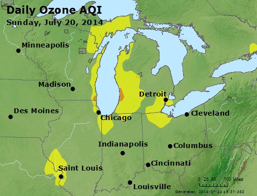 Peak Ozone (8-hour) - http://files.airnowtech.org/airnow/2014/20140720/peak_o3_mi_in_oh.jpg