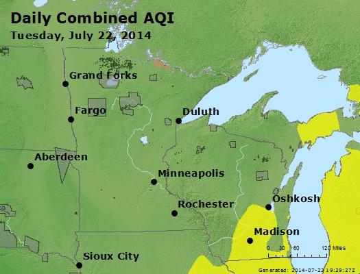 Peak AQI - http://files.airnowtech.org/airnow/2014/20140722/peak_aqi_mn_wi.jpg