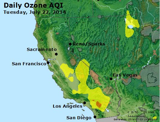 Peak Ozone (8-hour) - http://files.airnowtech.org/airnow/2014/20140722/peak_o3_ca_nv.jpg
