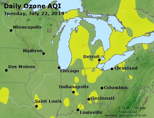 Peak Ozone (8-hour) - http://files.airnowtech.org/airnow/2014/20140722/peak_o3_mi_in_oh.jpg
