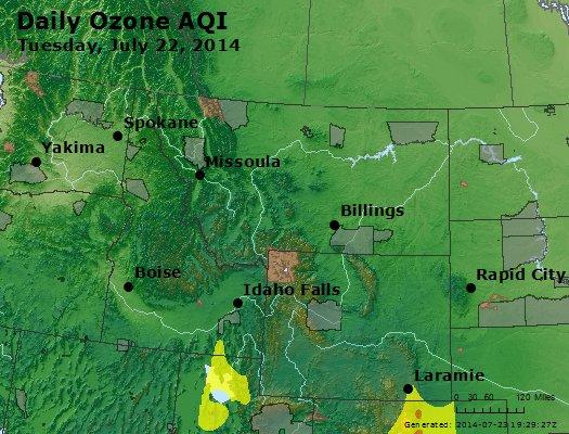 Peak Ozone (8-hour) - http://files.airnowtech.org/airnow/2014/20140722/peak_o3_mt_id_wy.jpg