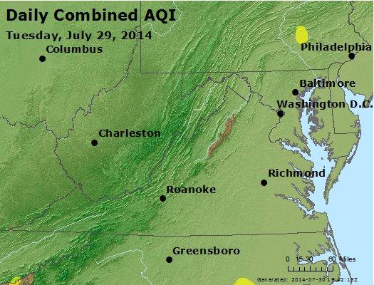 Peak AQI - http://files.airnowtech.org/airnow/2014/20140729/peak_aqi_va_wv_md_de_dc.jpg