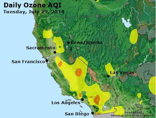 Peak Ozone (8-hour) - http://files.airnowtech.org/airnow/2014/20140729/peak_o3_ca_nv.jpg