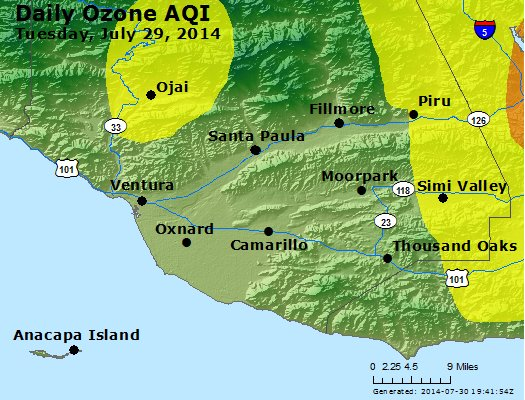 Peak Ozone (8-hour) - http://files.airnowtech.org/airnow/2014/20140729/peak_o3_ventura.jpg