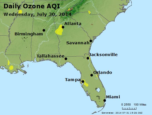 Peak Ozone (8-hour) - http://files.airnowtech.org/airnow/2014/20140730/peak_o3_al_ga_fl.jpg