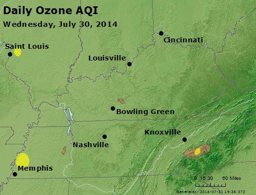 Peak Ozone (8-hour) - http://files.airnowtech.org/airnow/2014/20140730/peak_o3_ky_tn.jpg