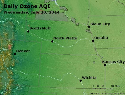 Peak Ozone (8-hour) - http://files.airnowtech.org/airnow/2014/20140730/peak_o3_ne_ks.jpg