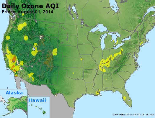 Peak Ozone (8-hour) - http://files.airnowtech.org/airnow/2014/20140801/peak_o3_usa.jpg