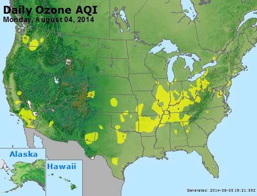 Peak Ozone (8-hour) - http://files.airnowtech.org/airnow/2014/20140804/peak_o3_usa.jpg