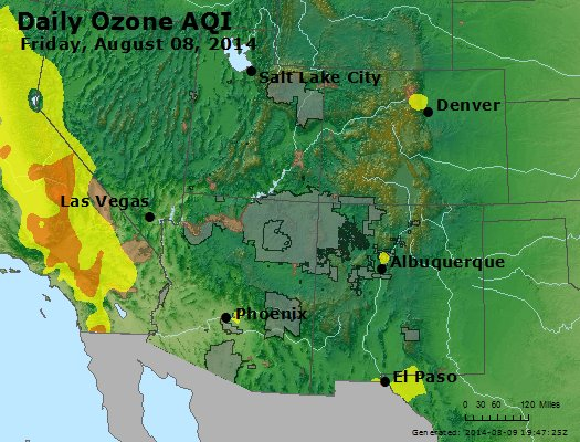 Peak Ozone (8-hour) - http://files.airnowtech.org/airnow/2014/20140808/peak_o3_co_ut_az_nm.jpg
