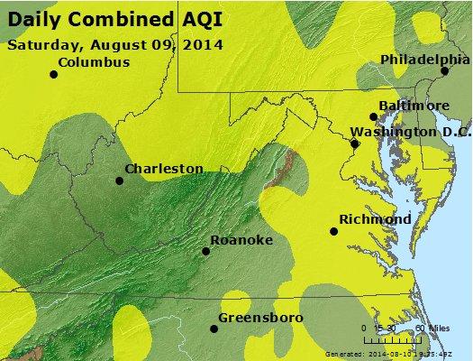 Peak AQI - http://files.airnowtech.org/airnow/2014/20140809/peak_aqi_va_wv_md_de_dc.jpg