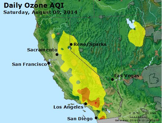 Peak Ozone (8-hour) - http://files.airnowtech.org/airnow/2014/20140809/peak_o3_ca_nv.jpg