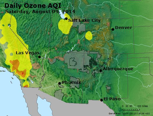 Peak Ozone (8-hour) - http://files.airnowtech.org/airnow/2014/20140809/peak_o3_co_ut_az_nm.jpg