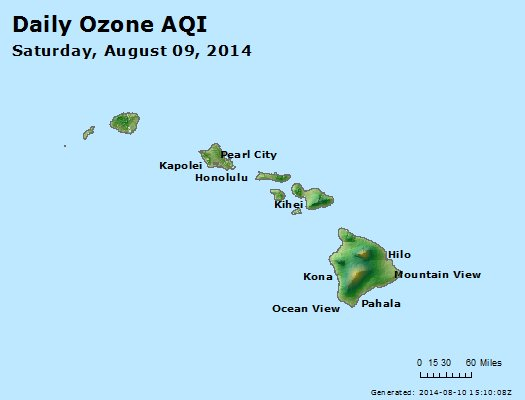 Peak Ozone (8-hour) - http://files.airnowtech.org/airnow/2014/20140809/peak_o3_hawaii.jpg
