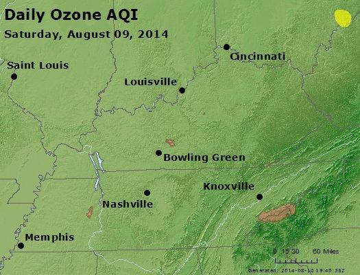 Peak Ozone (8-hour) - http://files.airnowtech.org/airnow/2014/20140809/peak_o3_ky_tn.jpg
