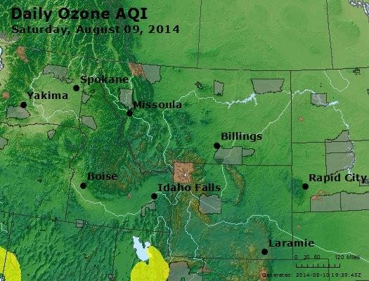 Peak Ozone (8-hour) - http://files.airnowtech.org/airnow/2014/20140809/peak_o3_mt_id_wy.jpg