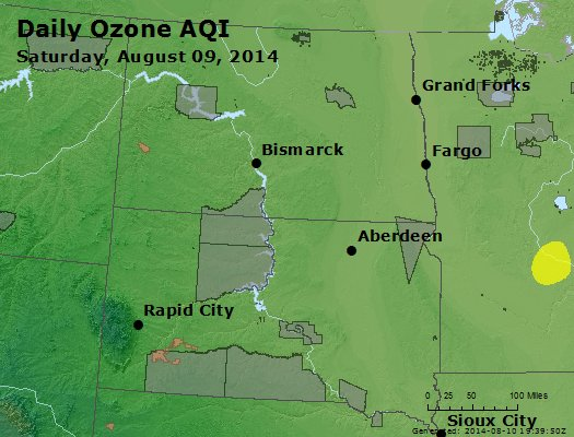 Peak Ozone (8-hour) - http://files.airnowtech.org/airnow/2014/20140809/peak_o3_nd_sd.jpg