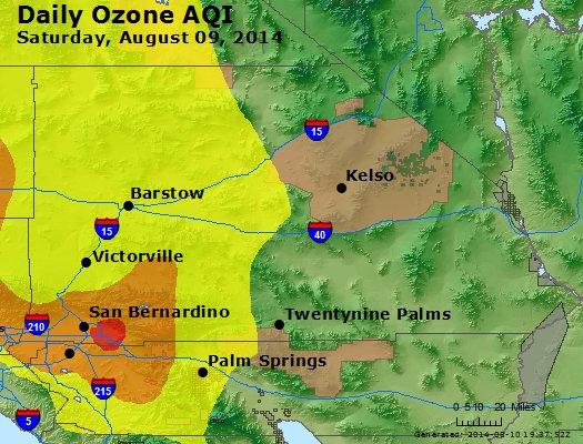 Peak Ozone (8-hour) - http://files.airnowtech.org/airnow/2014/20140809/peak_o3_sanbernardino_ca.jpg