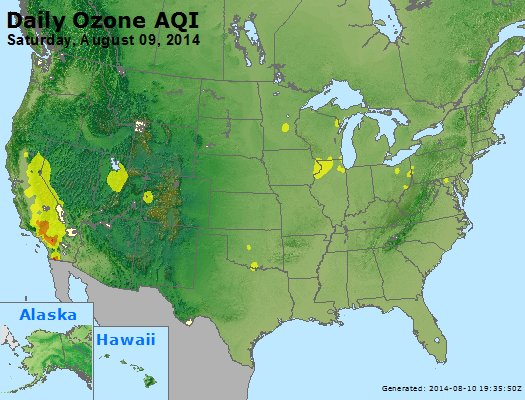 Peak Ozone (8-hour) - http://files.airnowtech.org/airnow/2014/20140809/peak_o3_usa.jpg