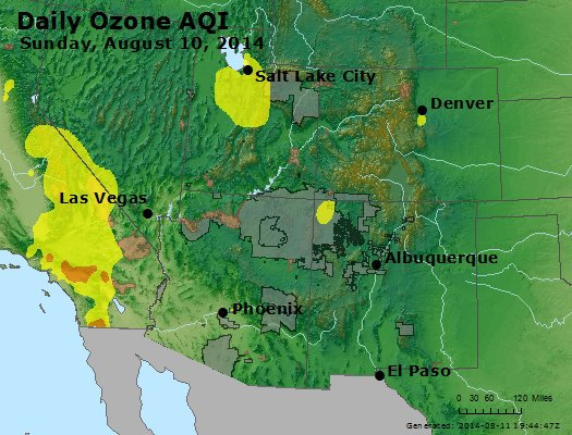 Peak Ozone (8-hour) - http://files.airnowtech.org/airnow/2014/20140810/peak_o3_co_ut_az_nm.jpg