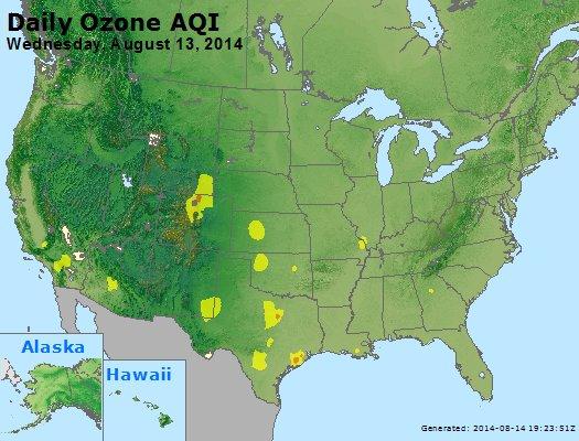 Peak Ozone (8-hour) - http://files.airnowtech.org/airnow/2014/20140813/peak_o3_usa.jpg