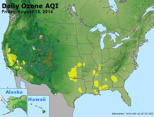Peak Ozone (8-hour) - http://files.airnowtech.org/airnow/2014/20140815/peak_o3_usa.jpg