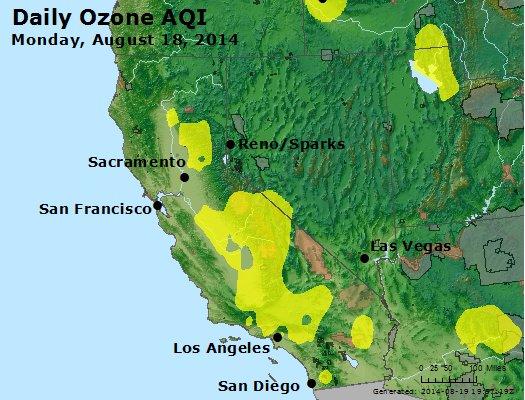 Peak Ozone (8-hour) - http://files.airnowtech.org/airnow/2014/20140818/peak_o3_ca_nv.jpg