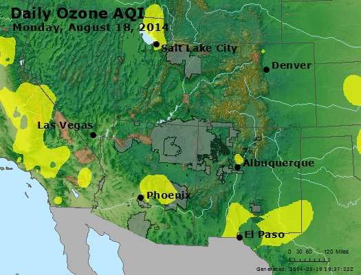Peak Ozone (8-hour) - http://files.airnowtech.org/airnow/2014/20140818/peak_o3_co_ut_az_nm.jpg