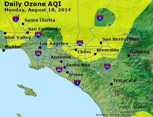 Peak Ozone (8-hour) - http://files.airnowtech.org/airnow/2014/20140818/peak_o3_losangeles_ca.jpg