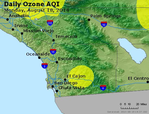 Peak Ozone (8-hour) - http://files.airnowtech.org/airnow/2014/20140818/peak_o3_sandiego_ca.jpg