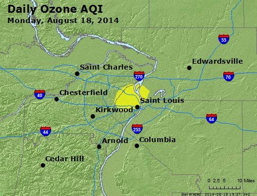 Peak Ozone (8-hour) - http://files.airnowtech.org/airnow/2014/20140818/peak_o3_stlouis_mo.jpg