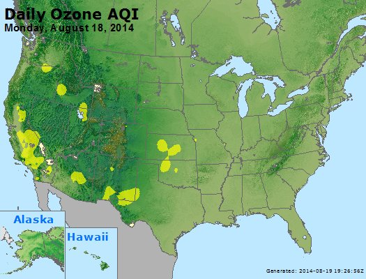 Peak Ozone (8-hour) - http://files.airnowtech.org/airnow/2014/20140818/peak_o3_usa.jpg