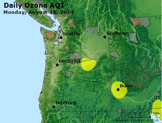 Peak Ozone (8-hour) - http://files.airnowtech.org/airnow/2014/20140818/peak_o3_wa_or.jpg