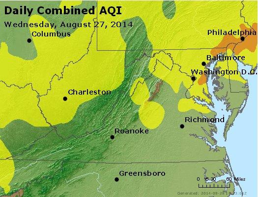 Peak AQI - http://files.airnowtech.org/airnow/2014/20140827/peak_aqi_va_wv_md_de_dc.jpg