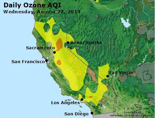 Peak Ozone (8-hour) - http://files.airnowtech.org/airnow/2014/20140827/peak_o3_ca_nv.jpg