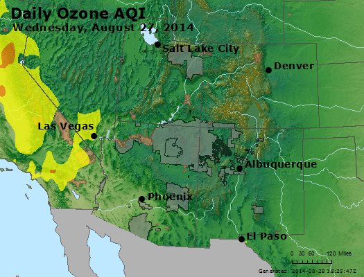 Peak Ozone (8-hour) - http://files.airnowtech.org/airnow/2014/20140827/peak_o3_co_ut_az_nm.jpg